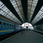 ウクライナ紀行(4) 列車に乗って首都キエフへ