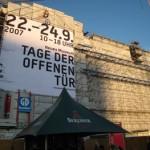 修復中の新博物館が一般公開