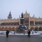 クラクフの旧市街と中央駅