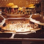 フィルハーモニーの「舞台席」