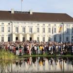 ベルヴュー宮殿の市民祭