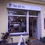ノイケルンのカフェ「two and two」