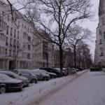 やはり!寒波到来のベルリン