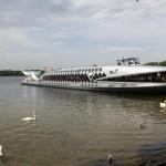テーゲル湖からオラニエンブルクまで遊覧船の旅(1)