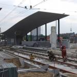 新トラム開業直前の中央駅