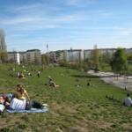 緑豊かなベルリンの公園