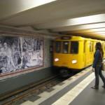 アレクサンダー広場の「駅ギャラリー」
