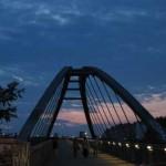 昨日の夕暮れ - Schwedter Stegにて -