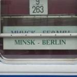 ベルリン中央駅発ユーラシア行き