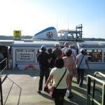 BVG船に乗ってクラドウへ