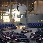ドイツ連邦議会議事堂大見学(3) -これが連邦議会の舞台だ-