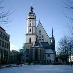 ライプチヒ・聖トーマス教会のクリスマス