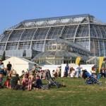 生まれ変わった植物園の大温室