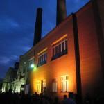 オーバーシュプレー・ケーブル工場でのコンサート