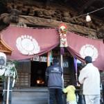 叶神社での初詣