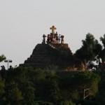 グエル公園の十字架の丘から