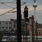 ベルリン中央駅発の夜行列車を眺めて(1)