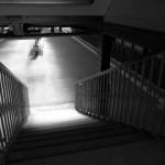 グライスドライエック駅の階段