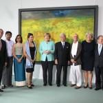 世界文化賞の受賞者発表式