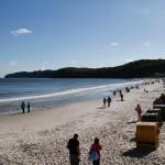リューゲン島への旅(2) - ビンツの砂浜で -