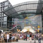 ベルリン中央駅10周年