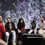 難民出身の俳優たちが演じる マキシム・ゴーリキー劇場の「冬の旅」